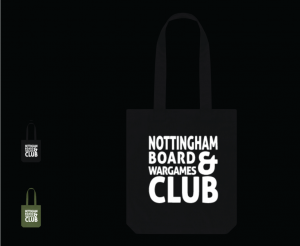 Nottingham Board and Wargames Club Tote Bag